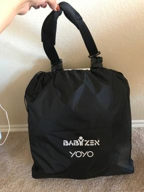 In storage bag